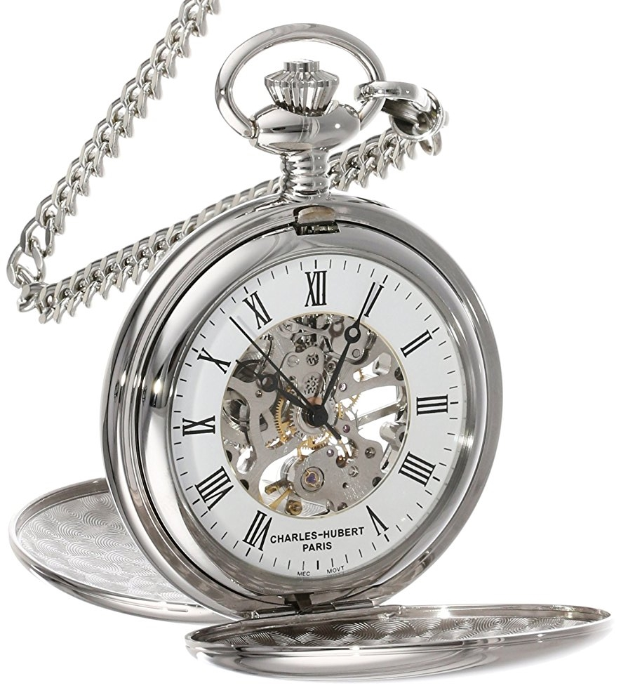 Charles Hubert Paris Pocket Watch 3575-W