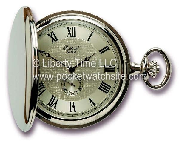 Rapport PW85 Silver Chrome Pocket watch
