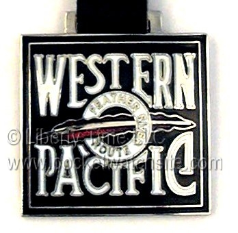 Western Pacific Railroad fob