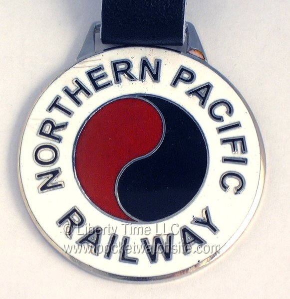 Northern Pacific Railroad Fob