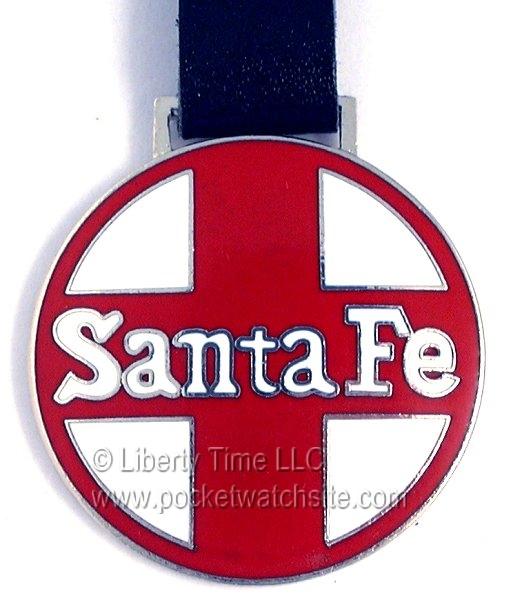 Sante Fe Railroad Fob