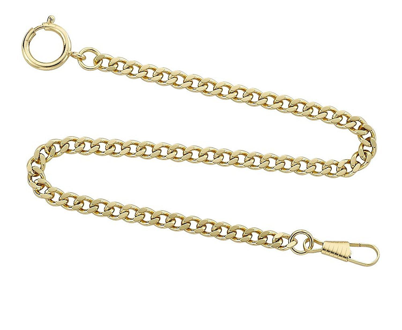 Desperado Gold Plated Sport Pocket Watch Chain
