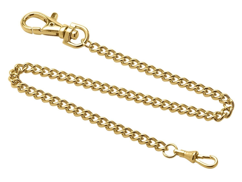 Dueber Steel Pocket Watch Chain dbr548glc