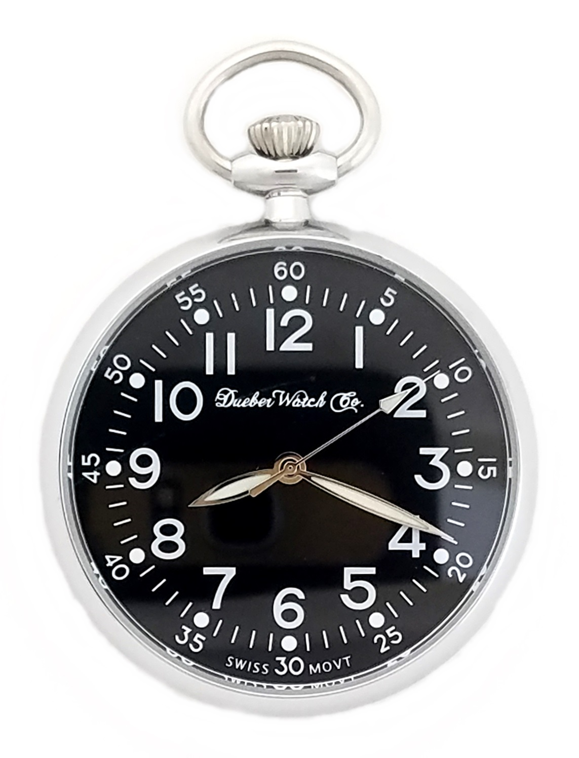 Dueber Military Style Pocket Watch