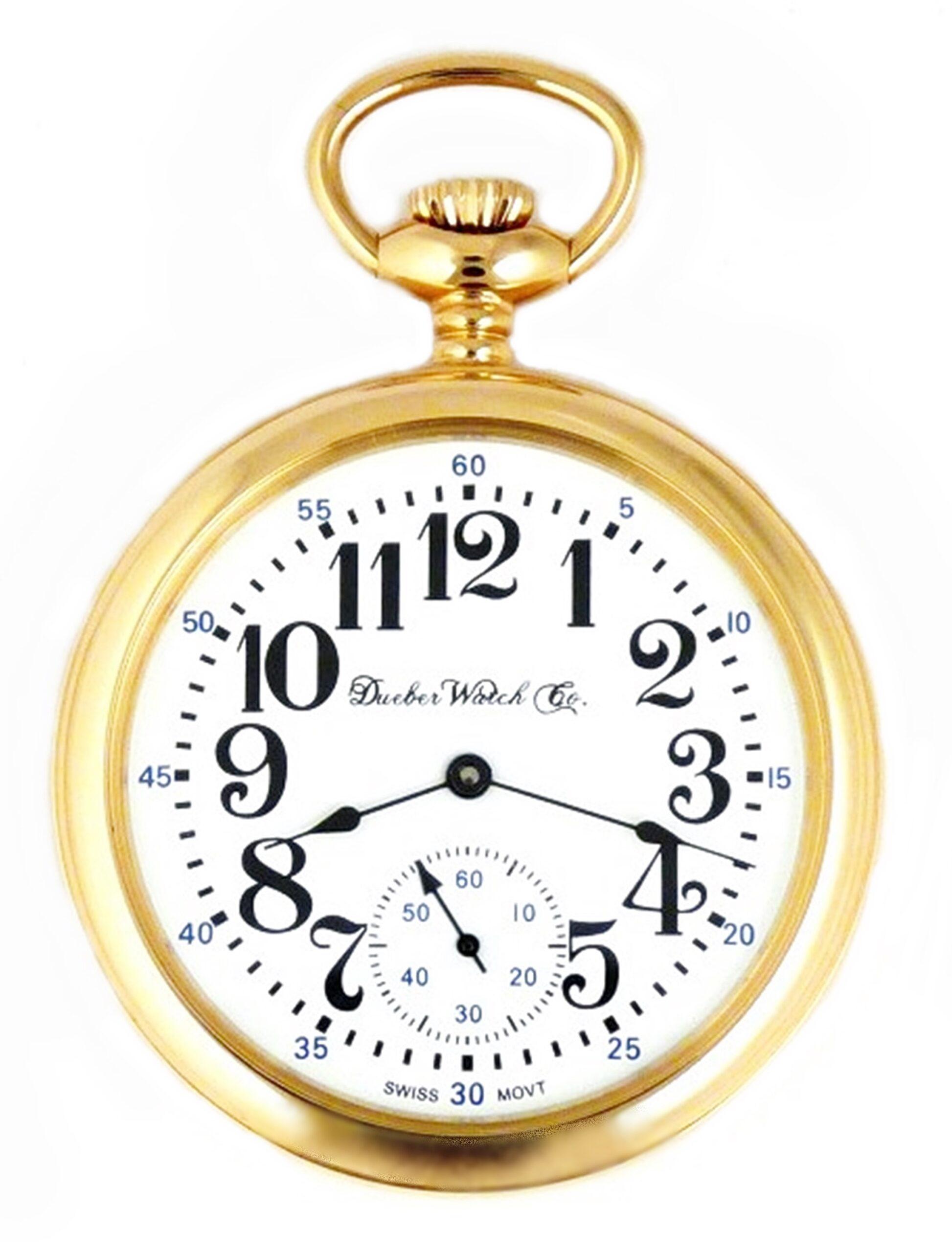 Dueber Swiss Pocket Watch